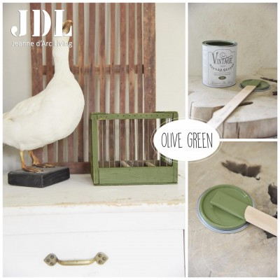 Vintage Chalk Paint - Olive Green  - JDL Vintage Paint