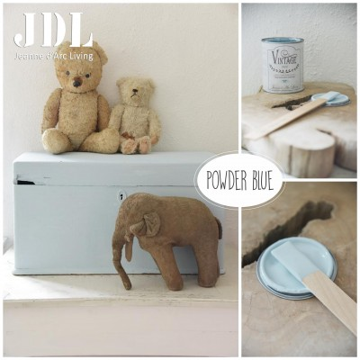 Vintage Chalk Paint - Powder Blue  - JDL Vintage Paint