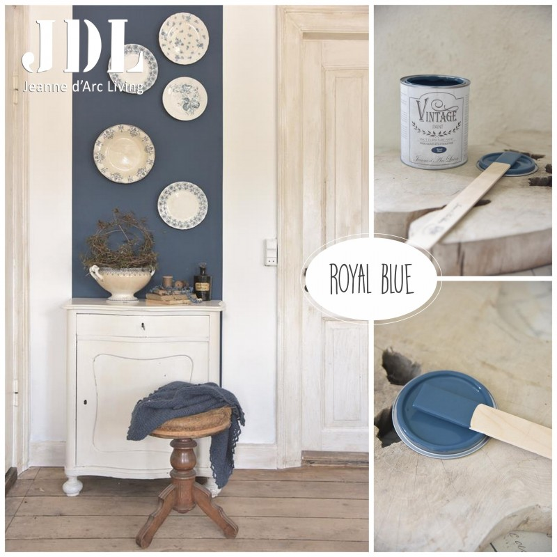 Vintage Chalk Paint - Royal Blue - JDL Vintage Paint