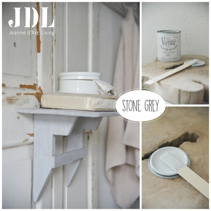 Vintage Chalk Paint - Stone Grey - JDL Vintage Paint