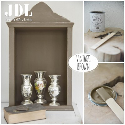 Vintage Chalk Paint - Vintage Brown - JDL Vintage Paint