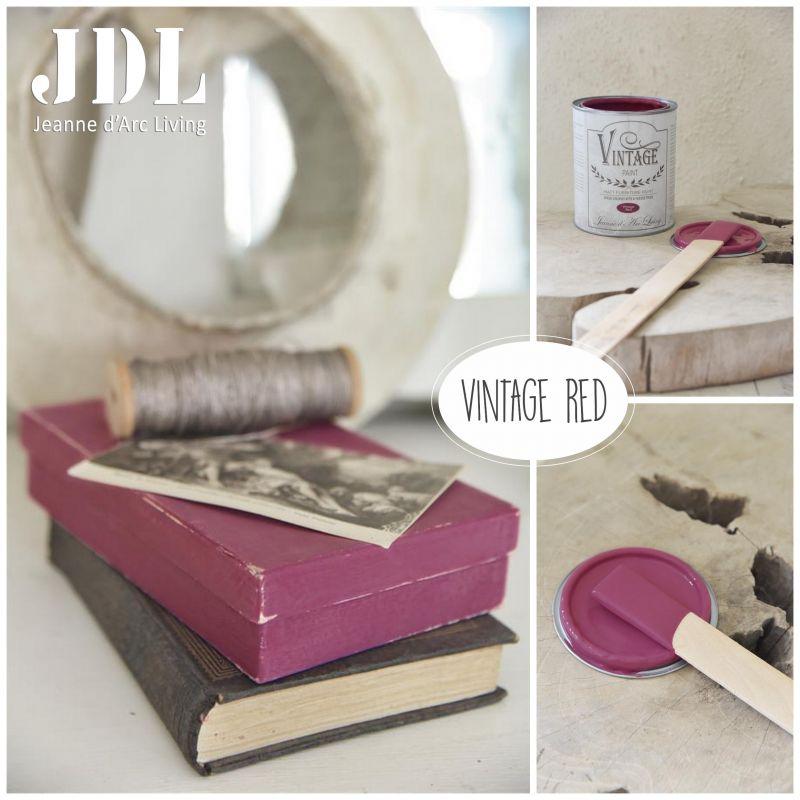 Vintage Chalk Paint - Vintage Red- JDL Vintage Paint