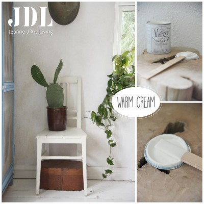 Vintage Chalk Paint - Warm Cream- JDL Vintage Paint