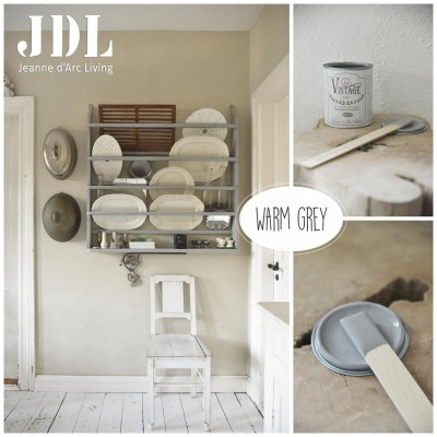 Vintage Chalk Paint - Warm Grey - JDL Vintage Paint