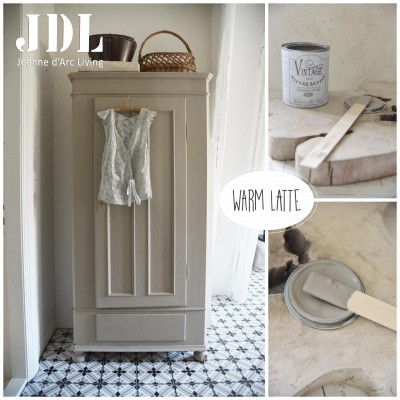 Vintage Chalk Paint - Warm Latte- JDL Vintage Paint