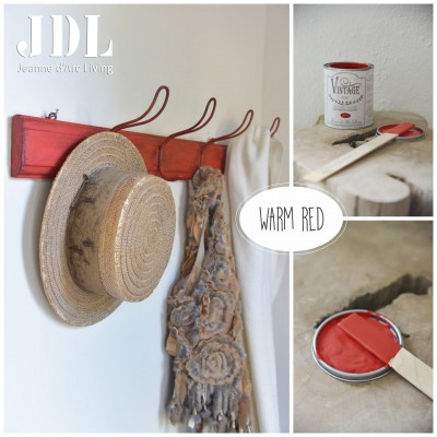 Vintage Chalk Paint - Warm Red - JDL Vintage Paint