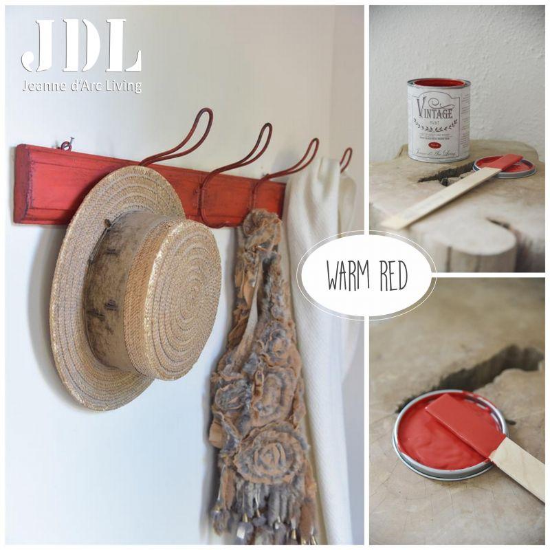 Vintage Chalk Paint - Warm Red - JDL Vintage Paint