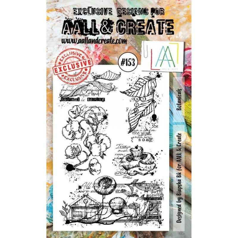 AALL and Create A6 bélyegző szett no.153