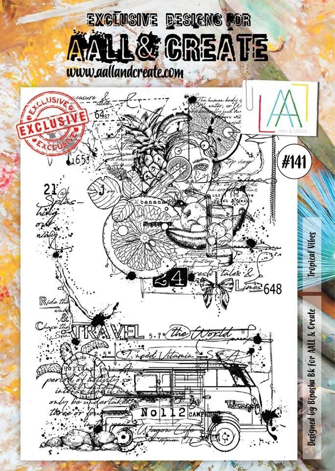 AALL and Create A4 bélyegző szett no.141