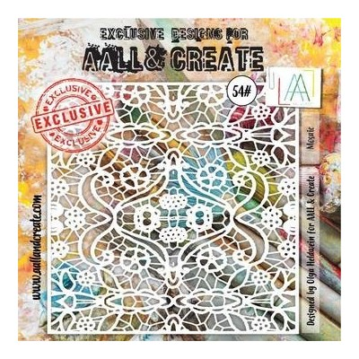 AALL and Create stencil no.54