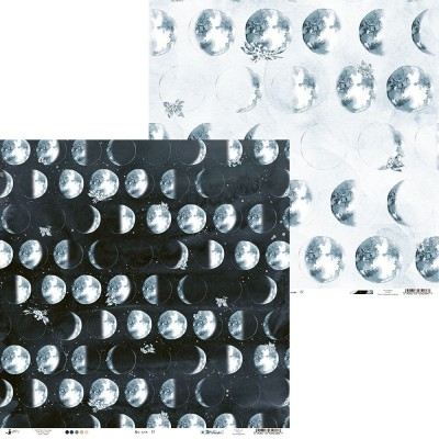 """New Moon - 12""""-es mini kollekció (6 db 2 oldalas papír)"""