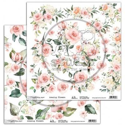 Amazing Flowers kivágóív