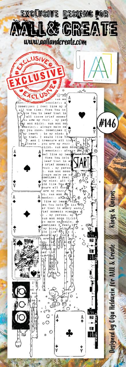 AALL and Create bordűr bélyegző szett no.146