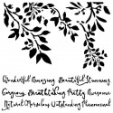 Wonderful Nature stencil - 13arts
