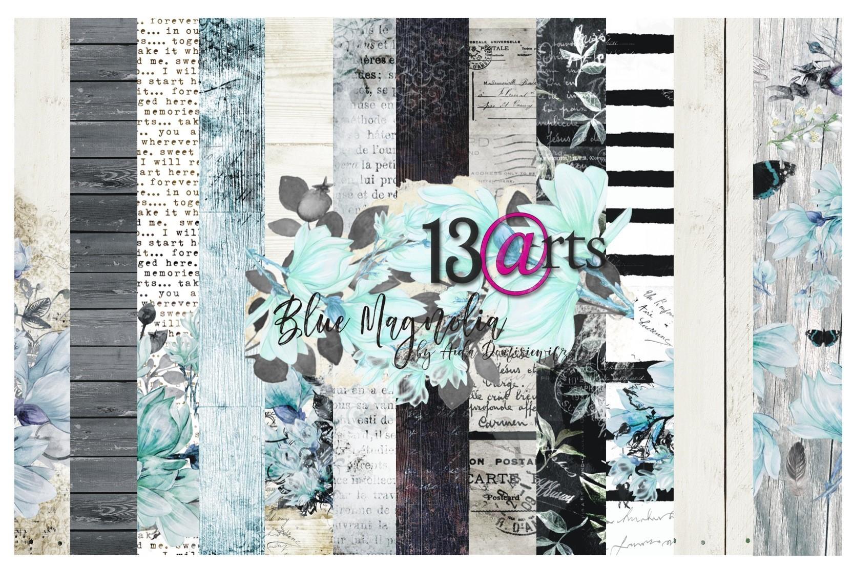Blue Magnolia kollekció - 12x12