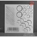 Barcode stencil