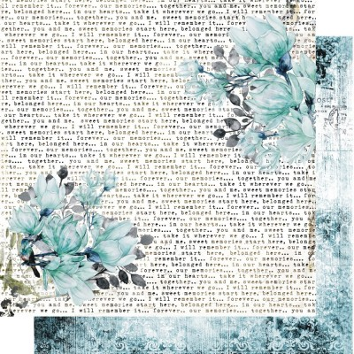 Blue Magnolia kollekció - 6x6