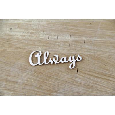 Always felirat (2 db)