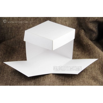 Kraft exploding box alap (300 g, 10x10 cm)