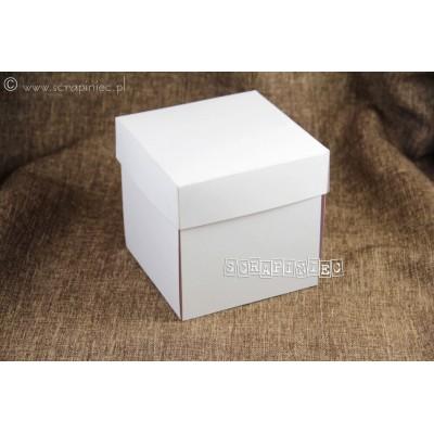 Kraft exploding box alap (500 g, 10x10 cm)