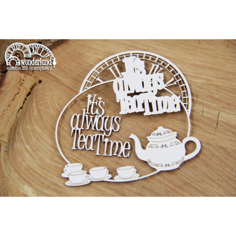 Wonderland - It's always tea time keret