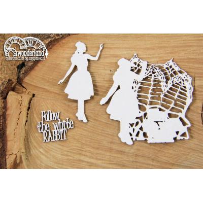 Wonderland - Follow dekor