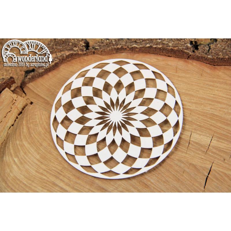 Wonderland - kör alakú sakktábla