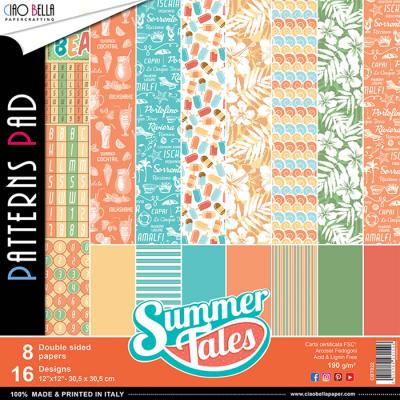 Summer Tales pattern pad 12x12