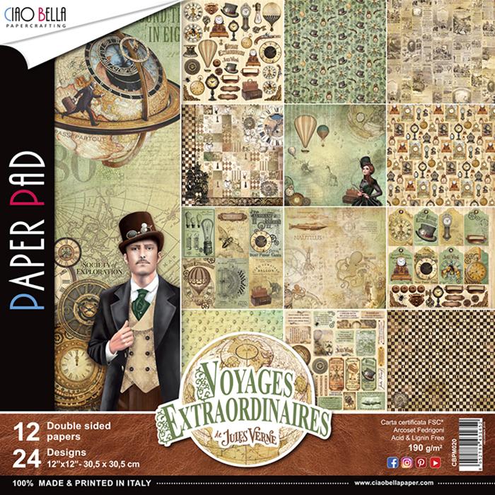 Voyages Extraordinaires kollekció 12x12