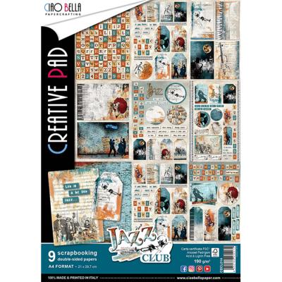 Jazz Club creative pad A4