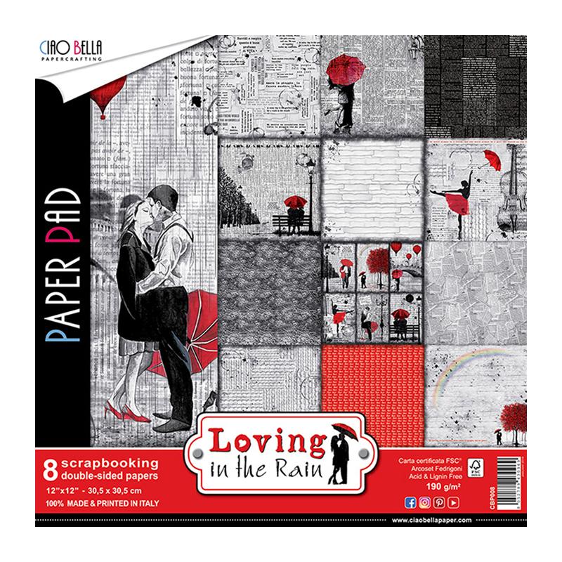 Loving in the Rain kollekció 12x12