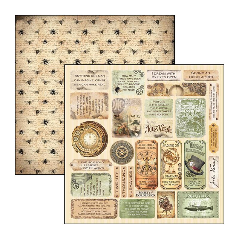 Mini cards' - Voyages Extraordinaires 12x12