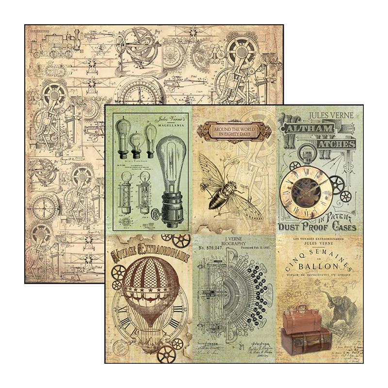Cards - Voyages Extraordinaires 12x12