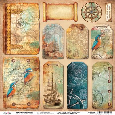 'Nautica' - Repubbliche Marinare Collection 12x12