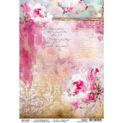 Spring Melodies rizspapír A4