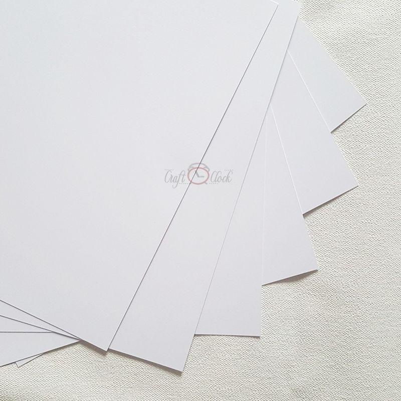 fehér alapkarton - 12x12