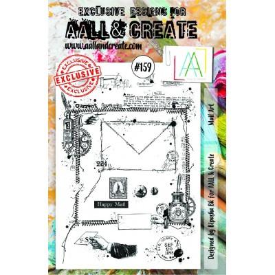 AALL and Create bélyegző szett no.126
