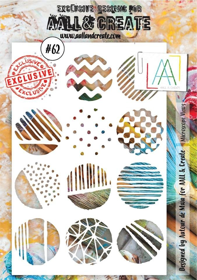 AALL and Create A5 stencil no.62