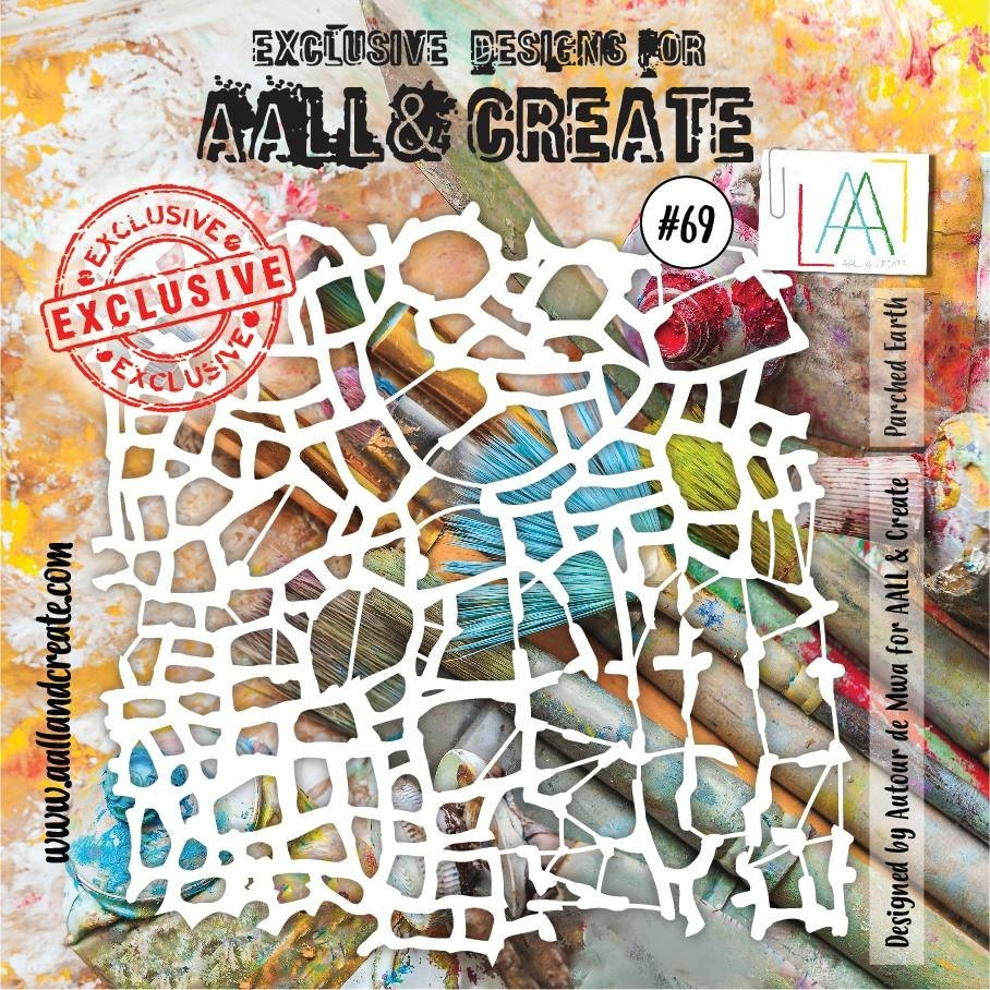 AALL and Create 6x6 stencil no.69