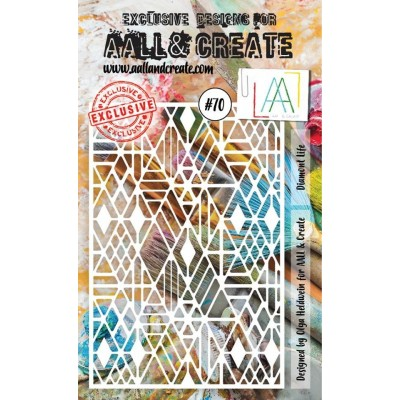 AALL and Create A6 stencil no.70