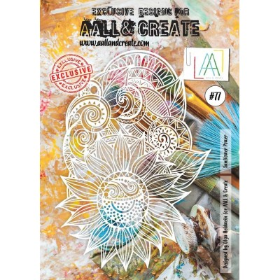 AALL and Create A4 stencil no.77