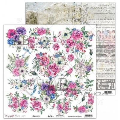 """Blossoms 12""""-es kivágóív"""