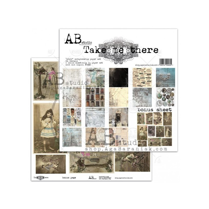 "Take Me There 12""-es kollekció  AB Studio"