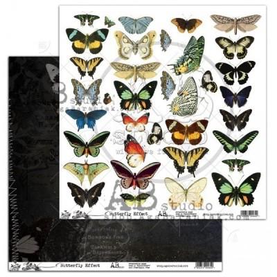 """Butterfly Effect 12""""-es kivágóív"""