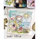 TandiArt gumibélyegző szett ID46 - Rainbow Love