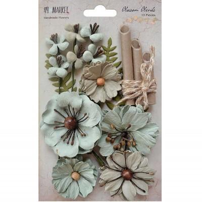 49 and Market papírvirág készlet - Blossom Blends – Aloe