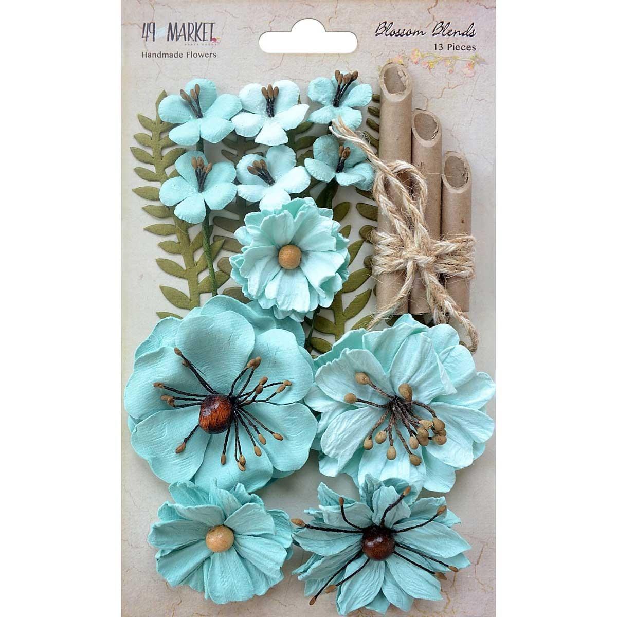 Papírvirág készlet - Blossom Blends – Sea Breeze