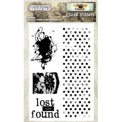 Lost and Found szilikonbélyegző