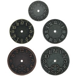 Idea-ology TIMEPIECES Metal Watch Clock Face