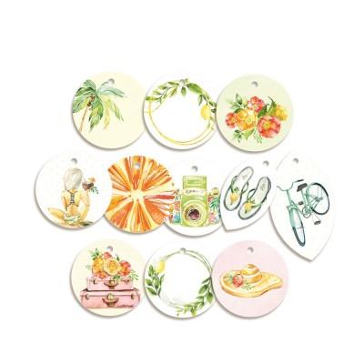 Sunshine - dekorációs címkék 01 - 11 db